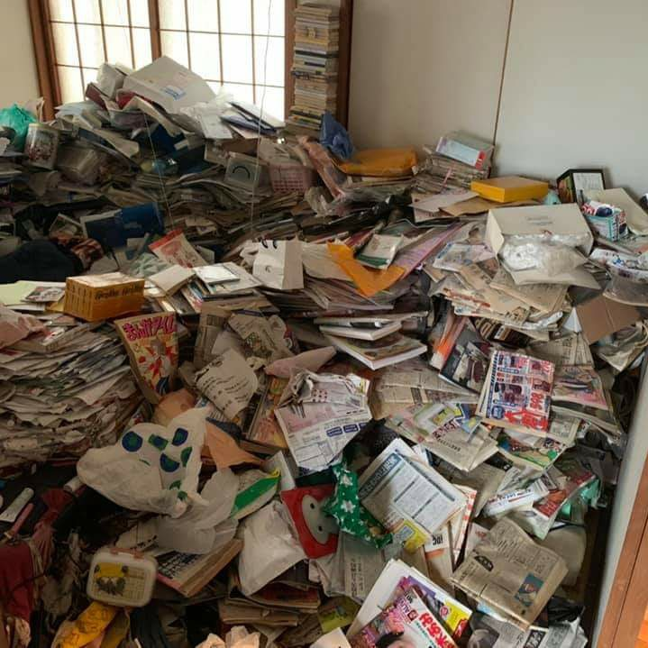 神戸のゴミ屋敷清掃