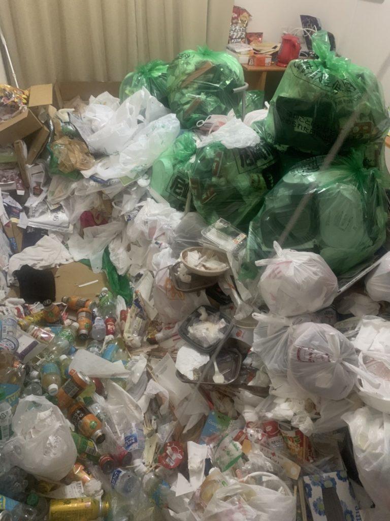 054_神戸市垂水区東舞子町のゴミ屋敷清掃事例