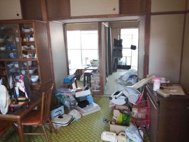 081_神戸市長田区房王寺町の遺品整理事例