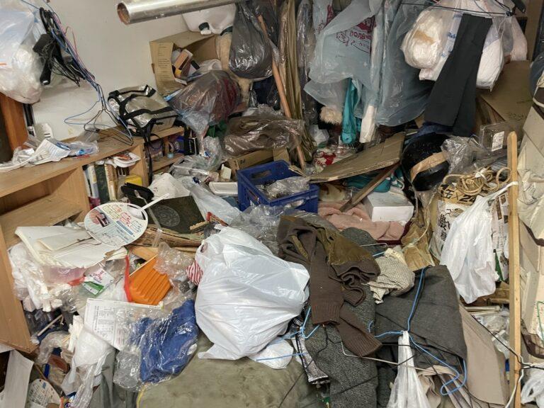 139_神戸市中央区野崎町のゴミ屋敷清掃事例